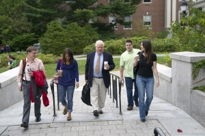 Dr. John Mahon and MBS Students
