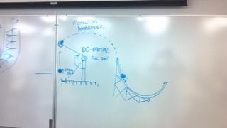 Idea for a ball accelerator
