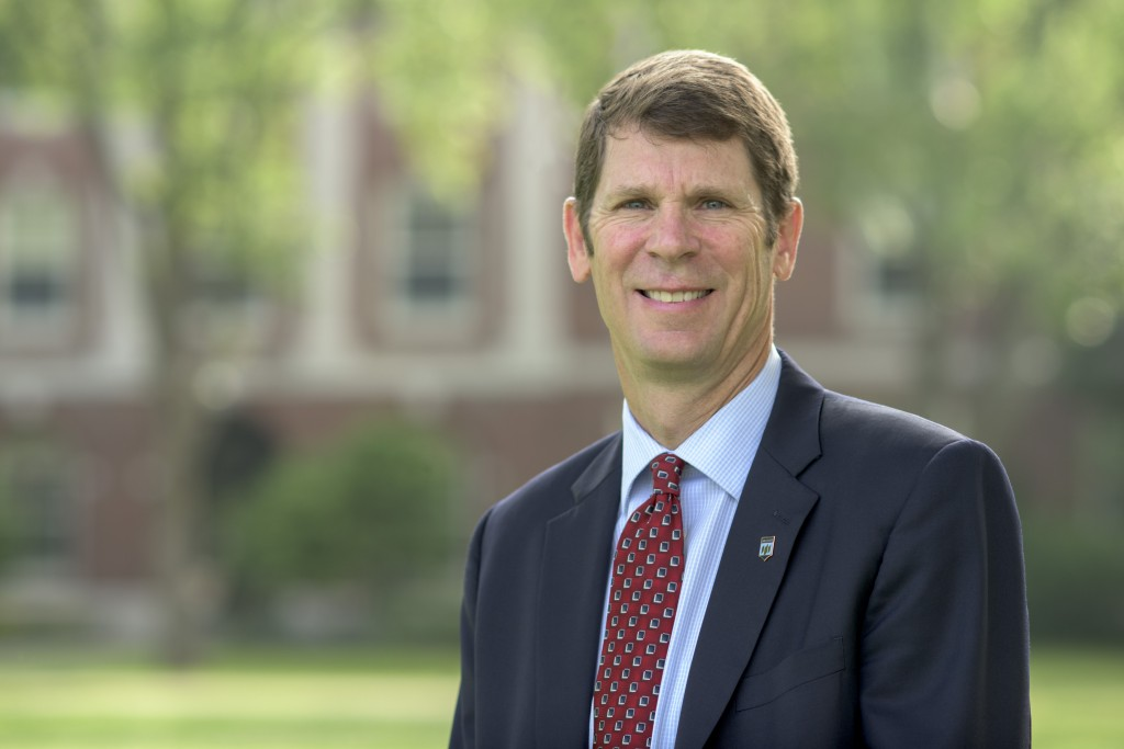 Photo of Dr. Jeffrey E. Hecker, Executive Vice President for Academic Affairs and Provost