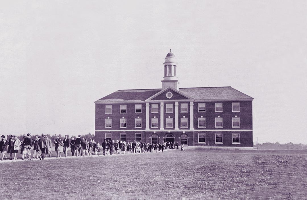 Stevens Hall in 1924