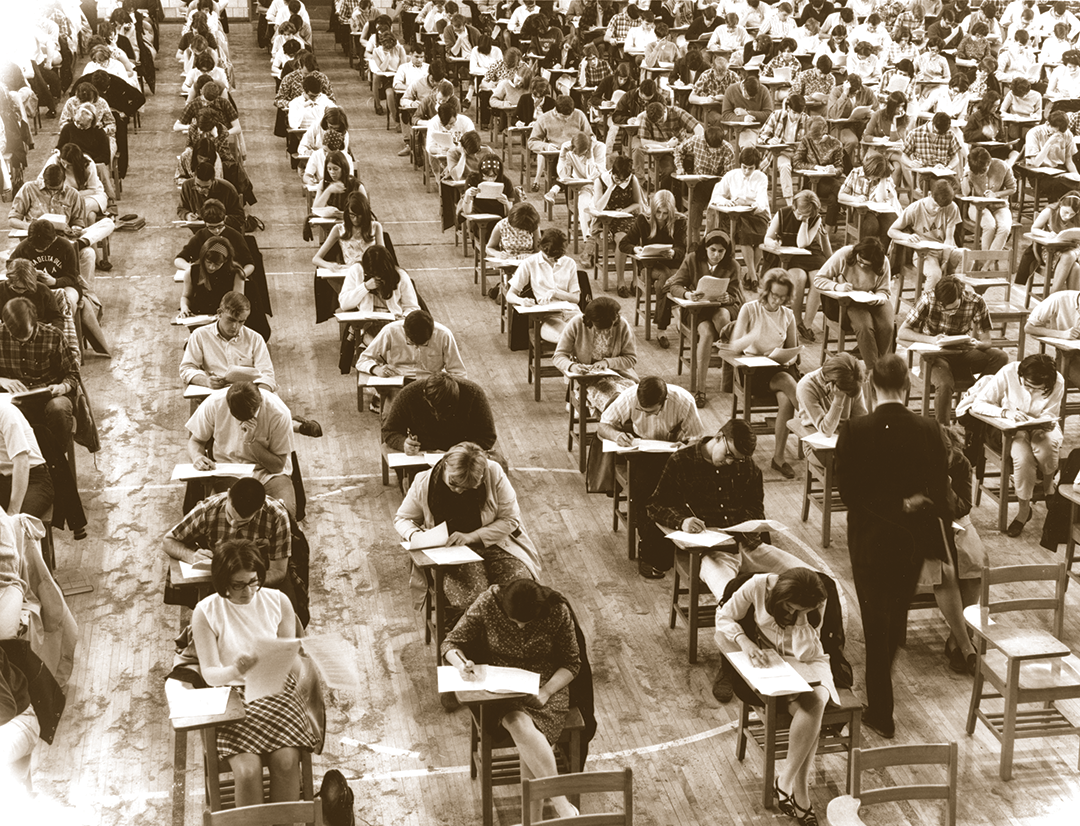 Final exams in 1967