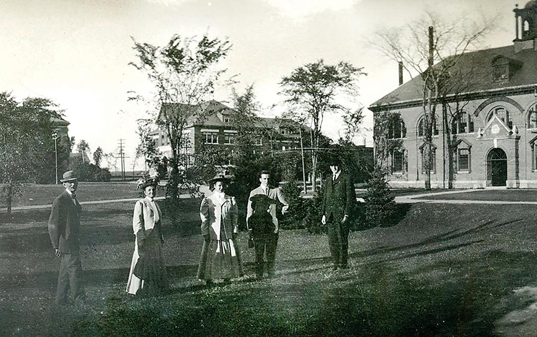 1908 Campus Scenes