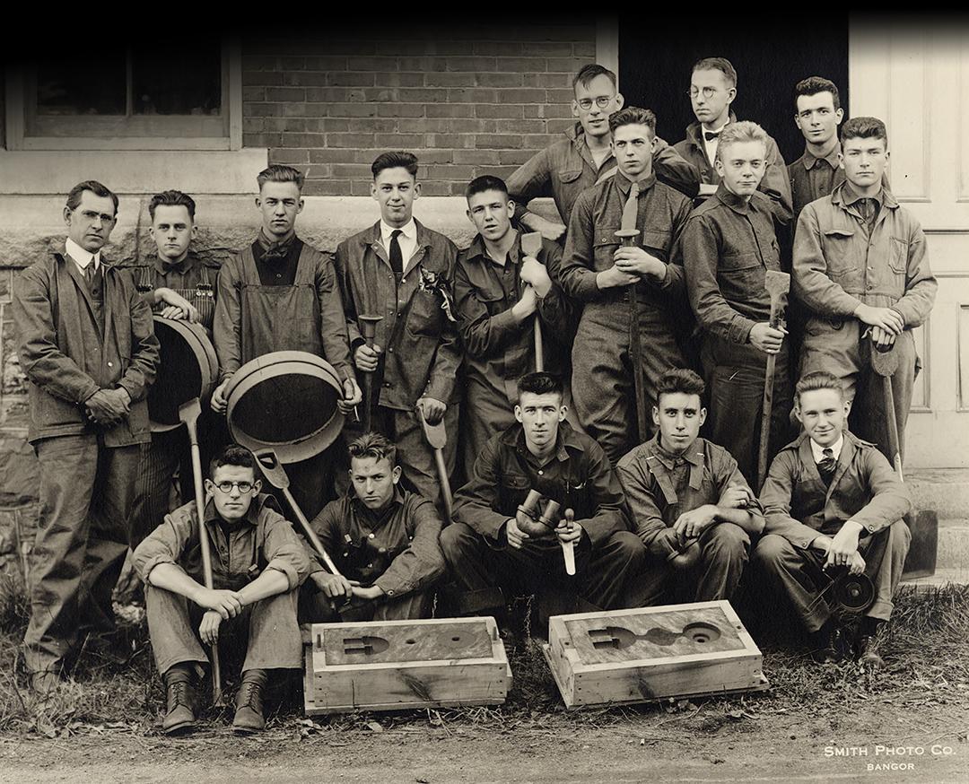 1925 Mechanical Engineering Students