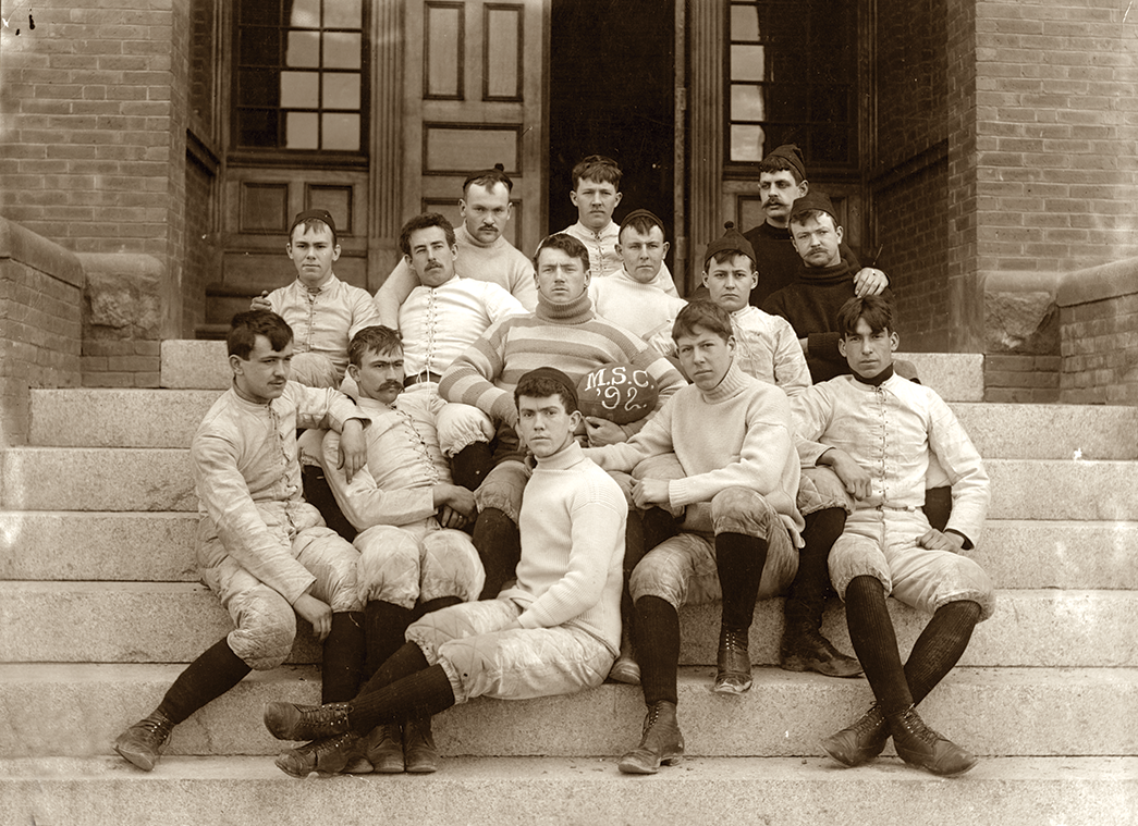 UMaine football in 1892