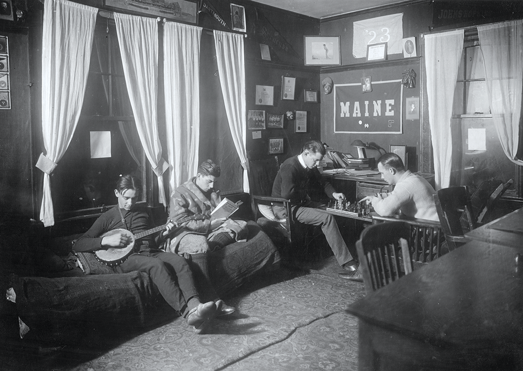 A UMaine residence hall in 1923