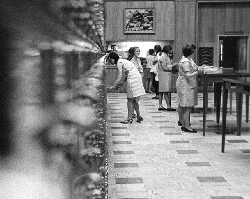 Jones Room, Fogler Library, circa 1968