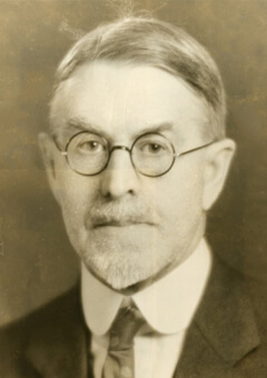 George Davis Chase, first dean of UMaine's Graduate School