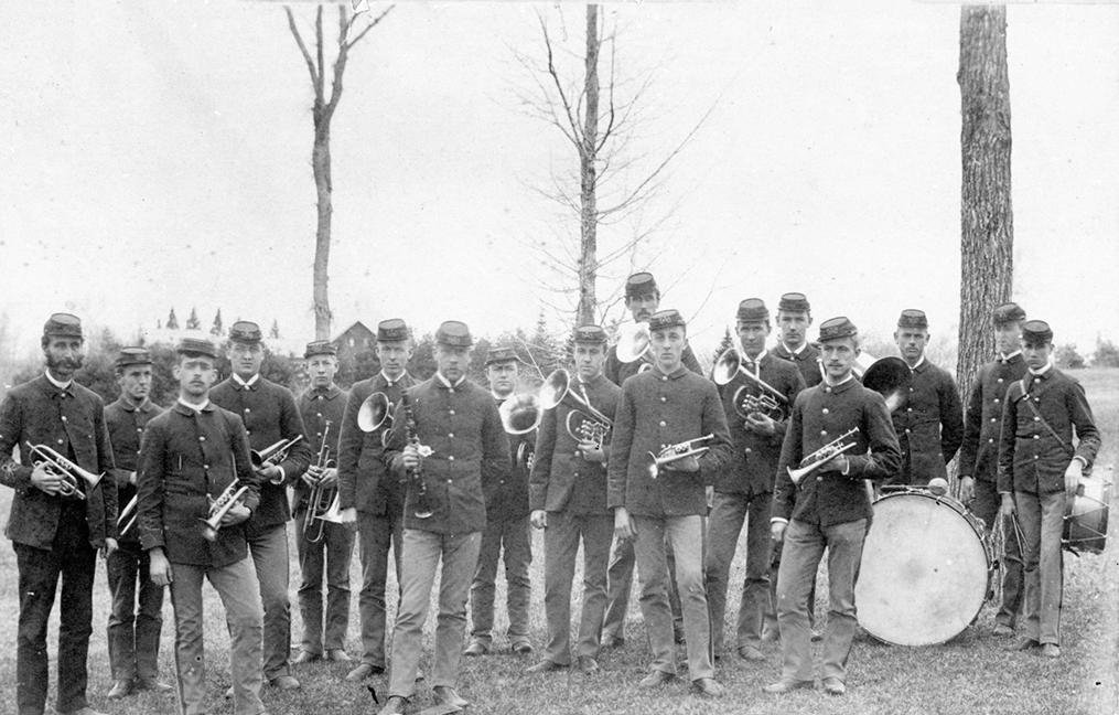 University of Maine Band, circa 1886