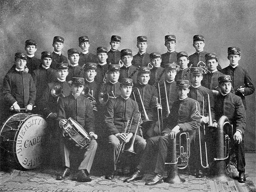 UMaine Cadet Band, circa 1903