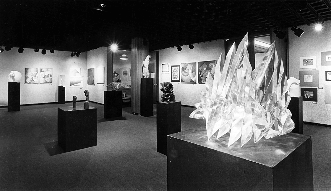 Art Students Show in Carnegie Gallery I, circa 1980