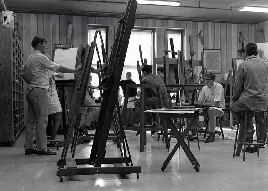 Undated art class