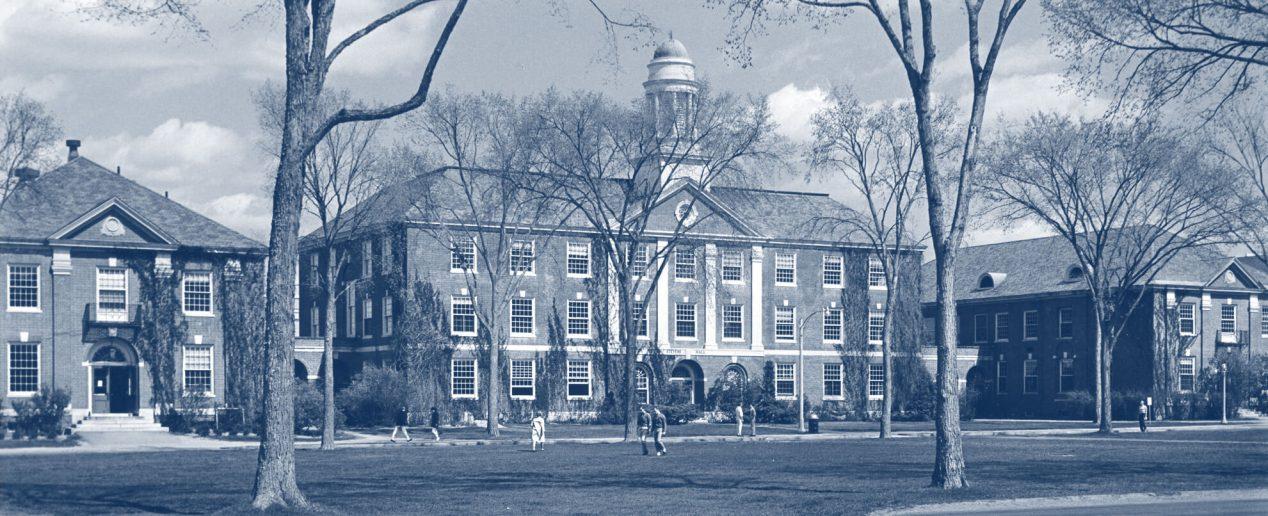 Stevens Hall, circa 1965