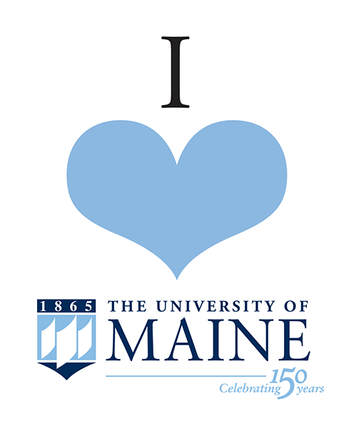 I Love UMaine graphic