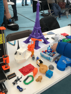 Example prints on display at our table during the Engineering Expo last year.