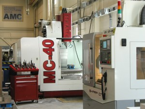Manufacturing Lab with milling machines