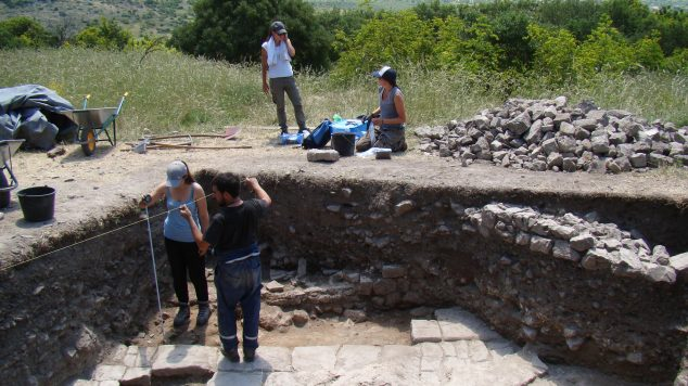 Photo of D excavation