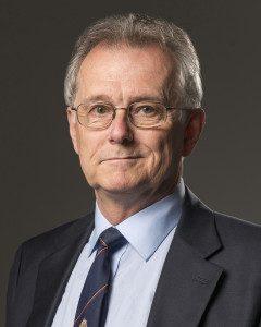 """Dr. Paul """"Jim"""" Roscoe portrait"""
