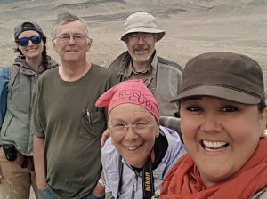 Photo of team of researchers in Peru