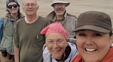 Photo of team of researchers in Peru