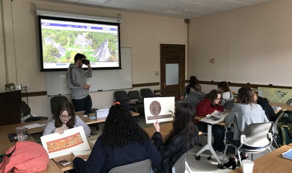 Course desc classroom, photo of