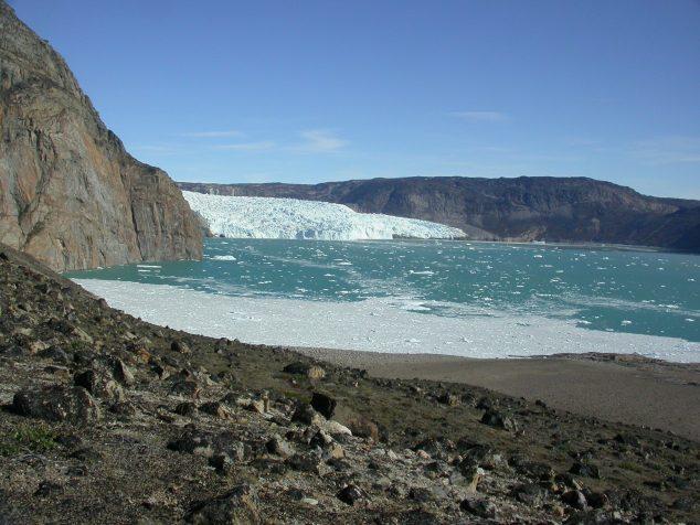 Hooke Calving Glacier