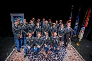 Cadets with Sec Def Cohen