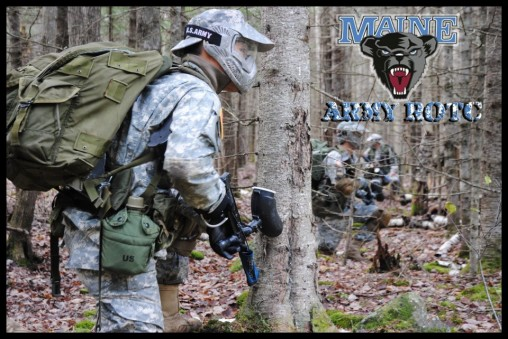 Paintball during a Field Training Exercise (FTX).