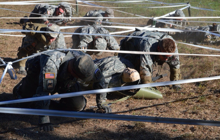 Cadets at Ranger Challenge Competition