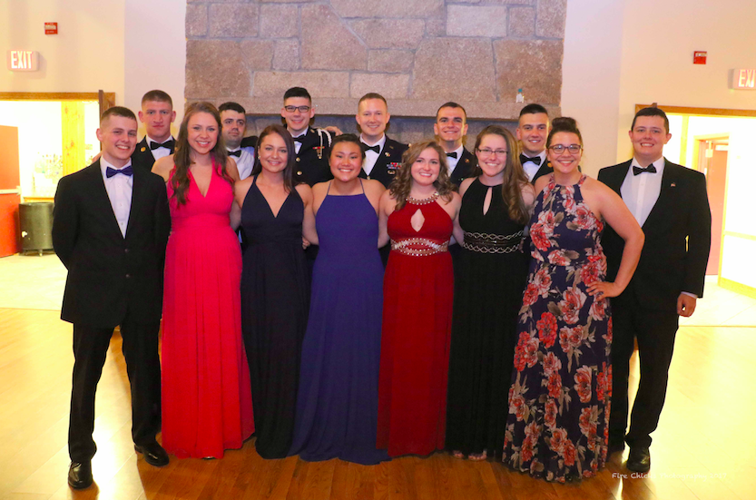 MS II class at Military Ball