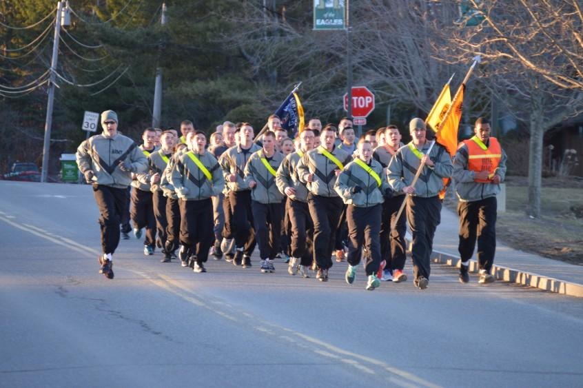 2016 Battalion run.