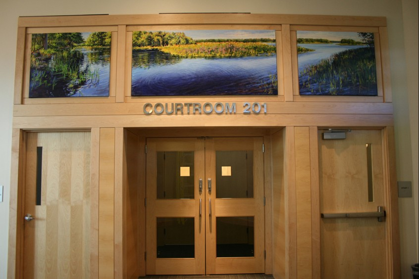 Greenbush Launch, Installation, Penobscot Judicial Center