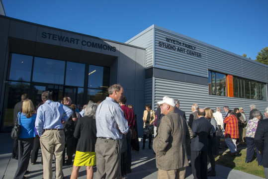 The Wyeth Center Opening