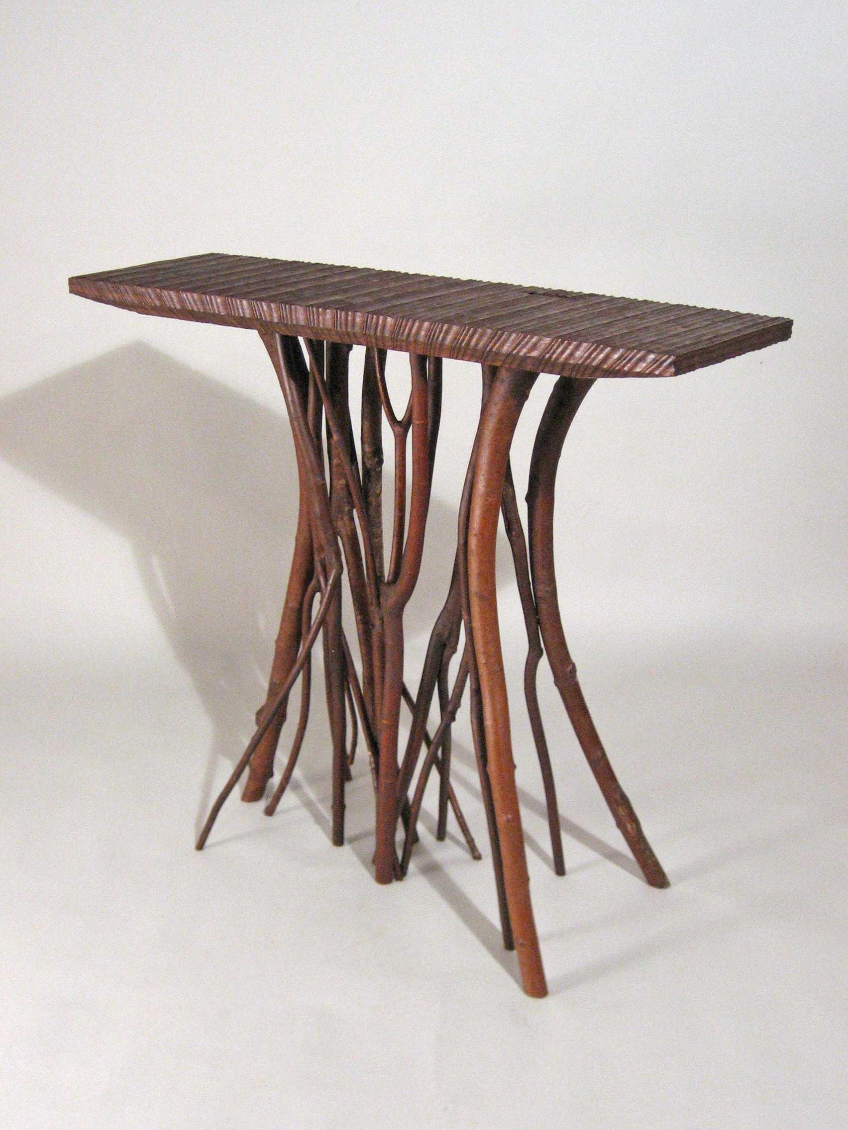 05 Walnut Hall Table