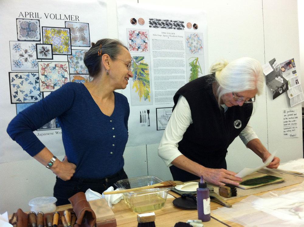 April Vollmer Workshop