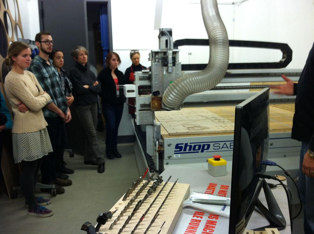 Print I Class With CNC Machine