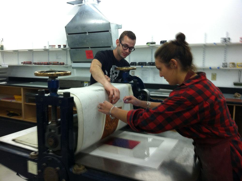 Scott and McKenzie Multicolor Printing