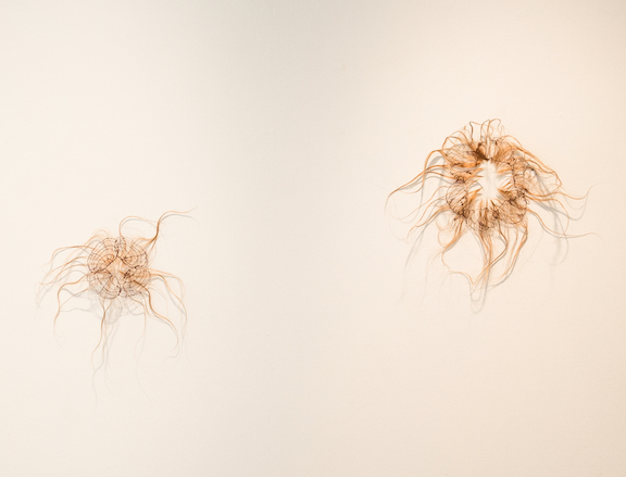 """two works from, """"patriarchal orifices"""" series"""