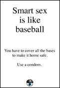 Smart Sex is like baseball
