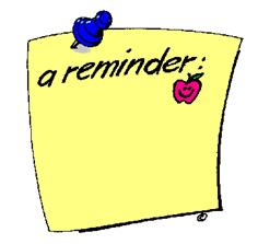 Reminder note