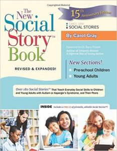Book cover: The New Social Story Book by Carol Gray
