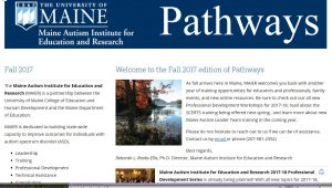 Screenshot of Pathways Fall 2017 edition- first page