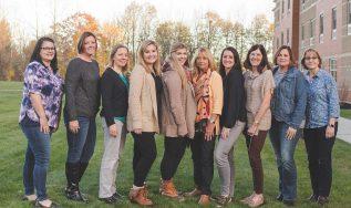 Group photo of ESM team