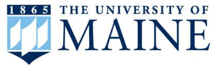 UMaine full crest logo