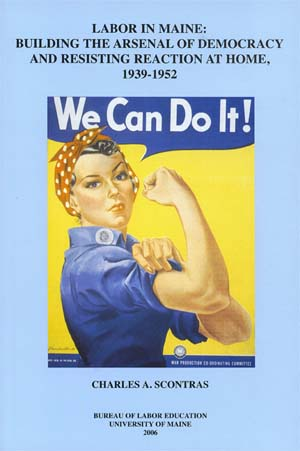 Book Cover with Rosie the Riveter