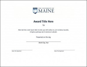certificate version 2 example for UMaine