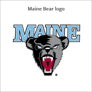 Maine bear logo