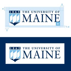UMaine logo spacing