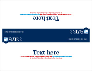 table tent example 1 for UMaine