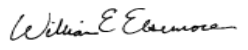 William E. Elsemore's signature