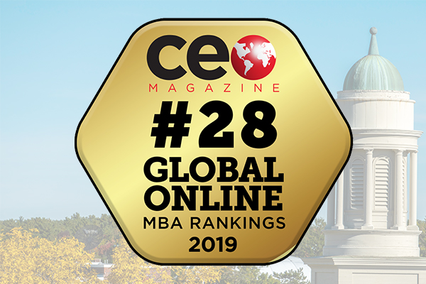 featured image for UMaine MBA Program named #28 in CEO Magazine's 2019 Global Online MBA rankings